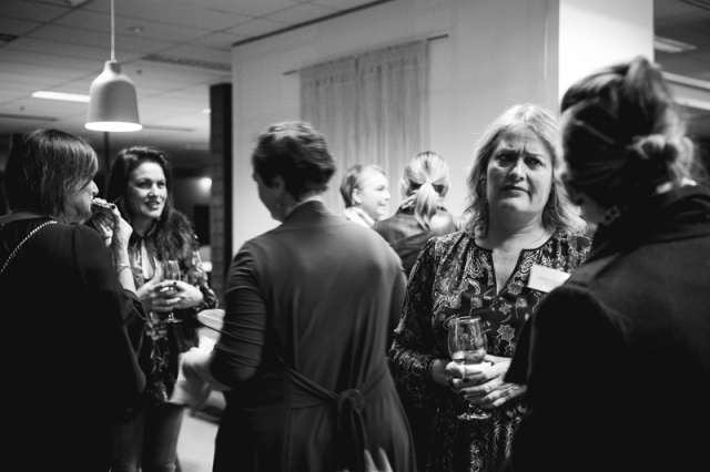 People conversations woman talking event networking